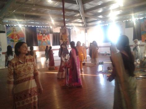 women at 1st Biennal 2