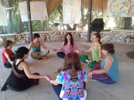 yogini a Villa Diana